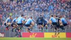 Dublin players warm up before the All-Ireland final replay against Mayo in 2016.  Photograph: Cathal Noonan/Inpho