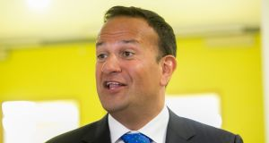 Even with a no-deal Brexit 'there will be net growth in employment', Taoiseach Leo Varadkar  said. Photograph: Gareth Chaney/Collins
