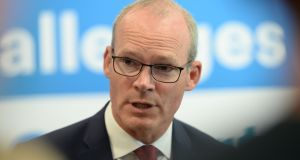 Minister for Foreign Affairs Simon Coveney. File potograph: Alan Betson