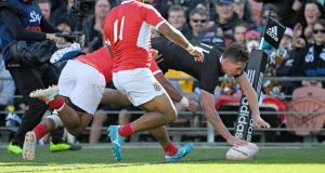 All Blacks play with 14 men with eye on World Cup