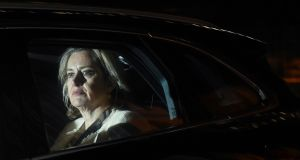 Amber Rudd leaves the British Houses of Parliament this week. File photograph: Oli Scarff/AFP/Getty