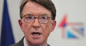 Former Labour minister and EU commissioner Peter Mandelson said he would support Labour leader Jeremy Corbyn as prime minister after a general election. File photograph: Getty