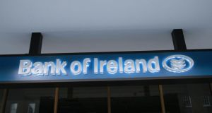It appears that the Bank of Ireland link is tenuous as it relates to a nominee company associated to a subsidiary of the group that was sold eight years ago. Photograph: Nick Bradshaw