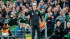 Georgia on his mind: Republic of Ireland manager Mick McCarthy at their Euro 2020 qualifier against Switzerland on September 5th.  Photograph: Morgan Treacy/Inpho