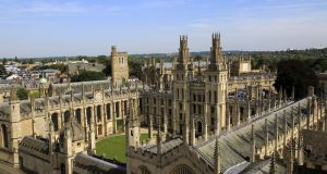 Collegiate living at All Souls College, University of Oxford