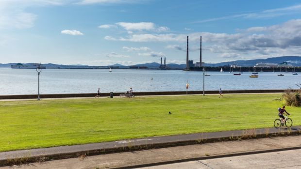 Views to the Sugar Loaf from Number 250 Clontarf Road