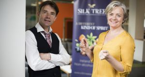 Andrew Oates and Tracy Cassidy: Silk Tree is the brainchild of these business and life partners  and was inspired by the growing popularity of botanical gins
