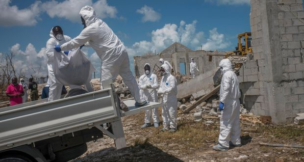 Bodies strewn as rescue effort stalls in overwhelmed Bahamas