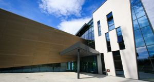 UCD Moore Centre for Business is fully integrated with the existing Quinn School building and increases its size by almost half. Photograph:  Shane O'Neill/Son Photographic