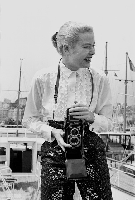Grace Kelly: the actress captured by Quinn at the Cannes Film Festival in 1955. Photograph: Edward Quinn Photo Archive
