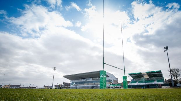 Connacht take on Munster in a pre-season friendly at the Sportsground. Photo: Oisin Keniry/Inpho
