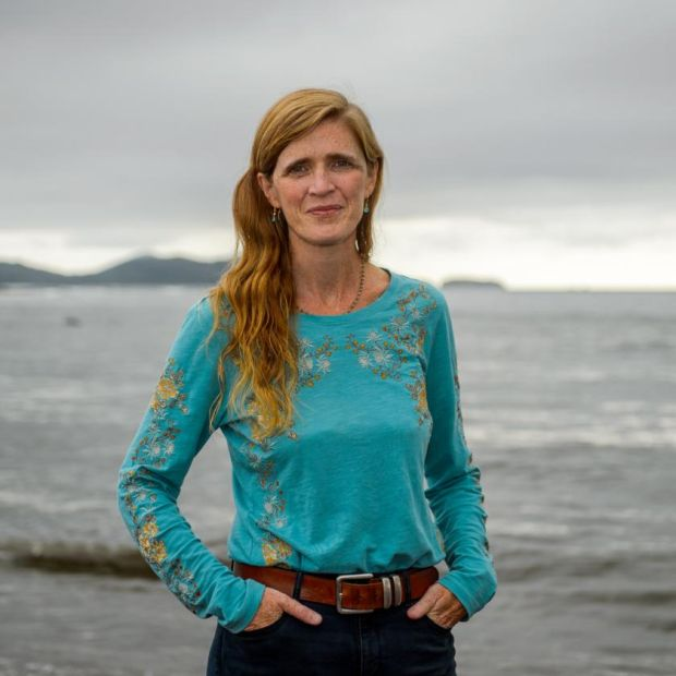 Samantha Power in Co Kerry. Photograph: Stephen Kelleghan