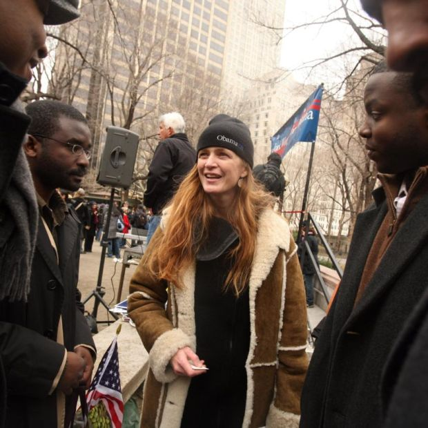 Samantha Power during Barack Obama's first presidential election campaign, in 2008. Photograph: Hirolo Masuike/New York Times