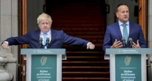 British prime minister Boris Johnson said on Tuesday that a no-deal exit would be a 'failure of statecraft'. Photograph: Aidan Crawley/Bloomberg