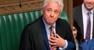 "Speaker of the House of Commons John Bercow: has been described as a ""stupid, sanctimonious dwarf"" and  ""one of the great speakers"". Photograph: Jessica Taylor/UK Parliament/AFP"