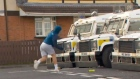 PSNI petrol-bombed in Derry