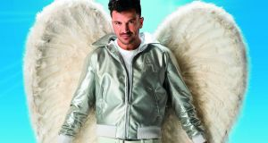 Peter Andre as Teen Angel in Grease the Musical at Bord Gáis Energy Theatre. Photograph: Hugo Glendinning
