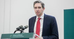 Minister for Health Simon Harris: 'These platforms can be a powerful tool for good, or they can be a vehicle for falsehoods and lies, and they need to decide what side they want to be on.' Photograph: Gareth Chaney/Collins