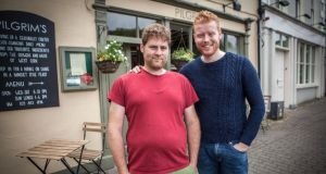 Beyond the Menu: Veg king Mark Jennings, of Pilgrim's, and Mark Moriarty, who was crowned young chef of the year