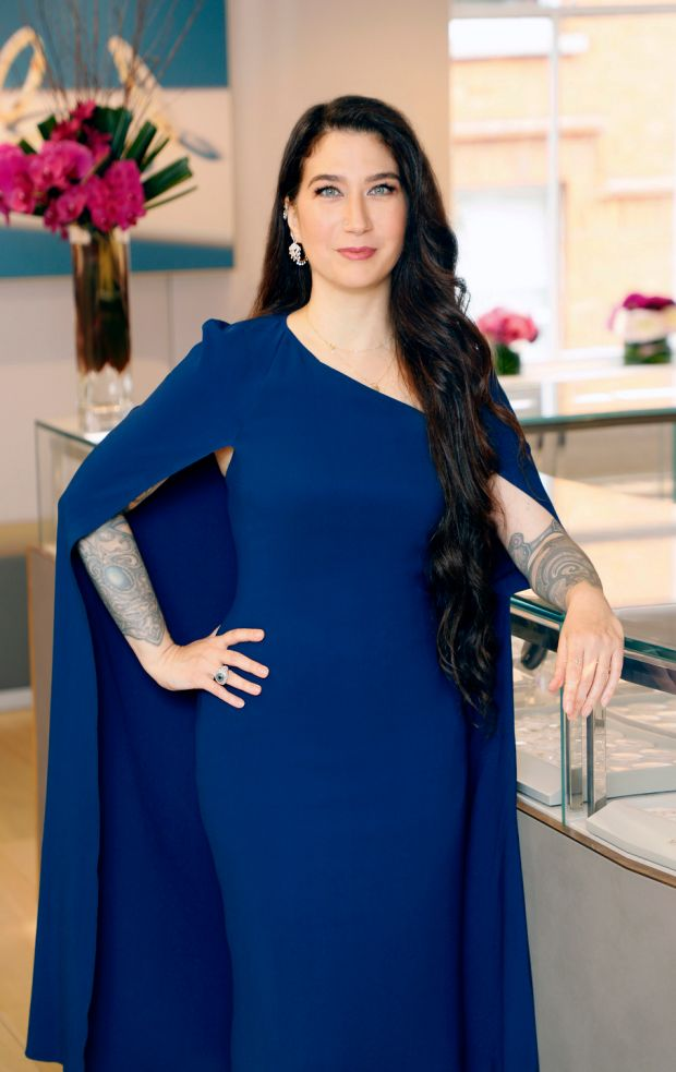 Maria Tash: the fine jewellery designer has a luxury piercing studio at Brown Thomas in Dublin