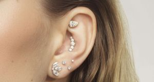 Multiple ear piercings: not just for teenagers. Photograph: Maria Tash/Brown Thomas