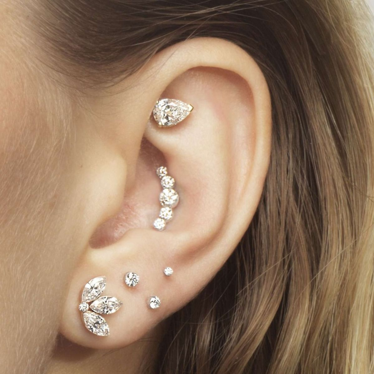 Can You Can Pull Off The Mid Life Multiple Ear Piercing Maria