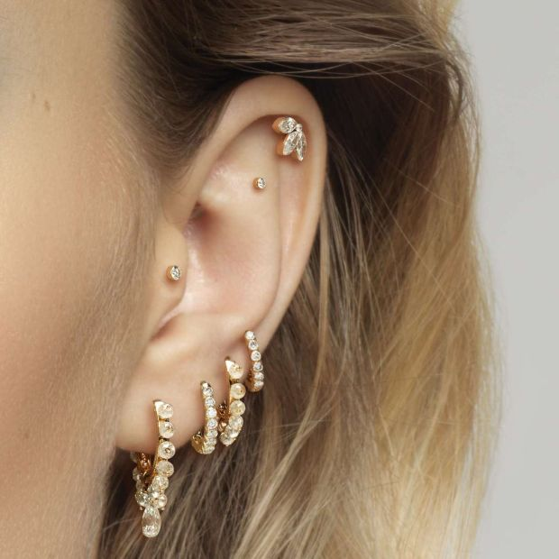 Maria Tash: 'A deliberate and well-fitted piercing equals sophistication'. Photograph: Maria Tash/Brown Thomas