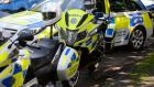 Garda was injured after suspected burglars rammed his motorbike.  Photograph: The Irish Times