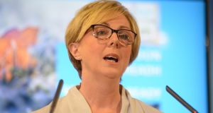 Minister for Social Protection Regina Doherty: current situation 'not a great way to do things'. Photograph: Dara Mac Dónaill