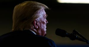 "US president Donald Trump claimed on Twitter that Ford wanted ""to build a much more expensive car, that is far less safe and doesn't work as well"". Photograph: Doug Mills/New York Times"