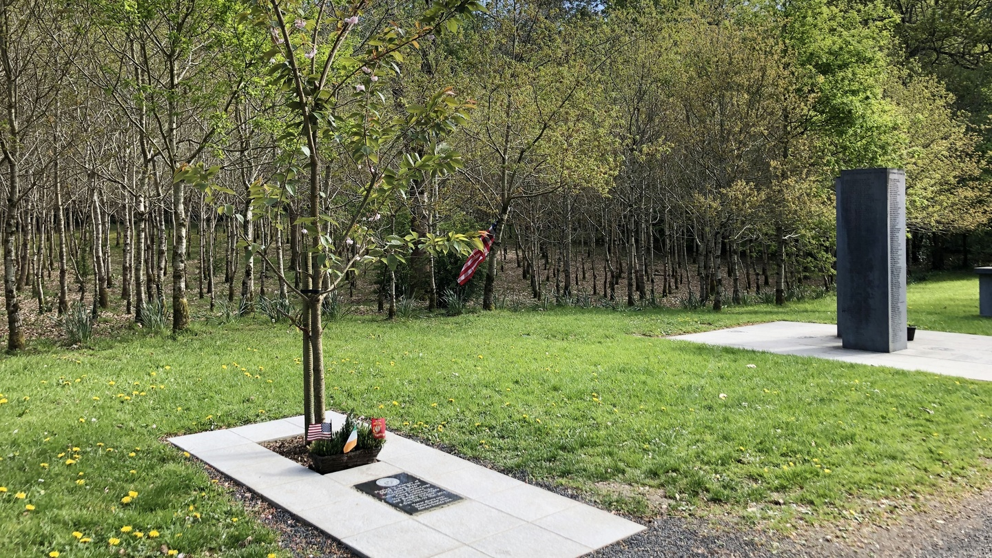 9/11 commemoration service being held at Donadea Forest Park