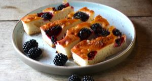 Blackberry and rosemary focacci.