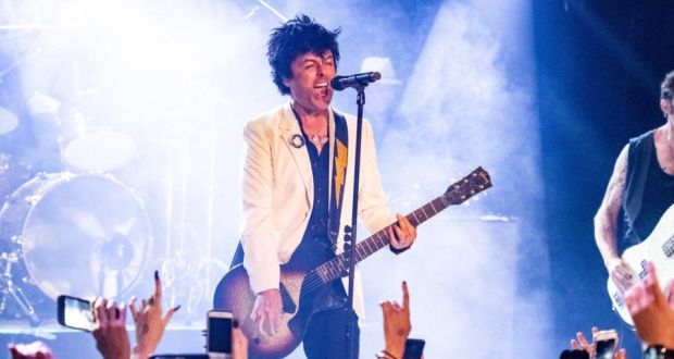 Hella Mega: Billy Joe Armstrong will play with Weezer and Fall Out Boy in 2020. Photograph: Timothy Norris/Getty