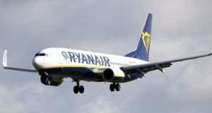 The court heard the  captain of the Ryanair aircraft told gardaí there was a passenger on board intoxicated to such an extent that there was a fear she might endanger herself or others.