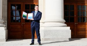 Minister for Finance Paschal Donohoe has dashed hopes for major tax cuts. Photograph: Paul Faith/AFP/Getty