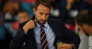 England manager Gareth Southgate has appealed to fans not to be disruptive in Prague for his side's next Euro 2020 qualifier. Photo: Neil Hall/EPA