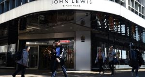 The first-half performance at John Lewis was unusually weak. Photograph: PA