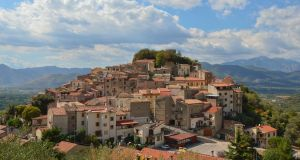 A village in the Italian province of Molise. Photograph: iStock/Getty