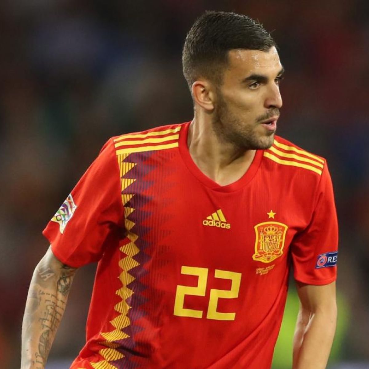 huge discount b6768 0991d Dani Ceballos says there's little difference in size between ...