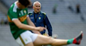 Kerry selector Donie Buckley: 'He'd always talk about initial contact – when you go into the tackle you should be turning the player or slowing him down.' Photograph: James Crombie/Inpho