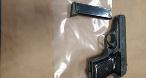 During the course of the search two firearms, including this one, were seized. Photograph: An Garda Síochána