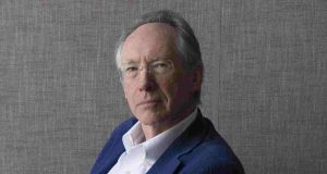 Ian McEwan: 'political satire in an old tradition'. Photograph: Lauren Fleishman/New York Times