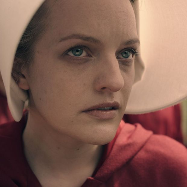 Elisabeth Moss in the television adaptation of The Handmaid's Tale. Photograph: Hulu