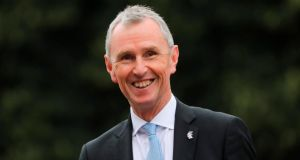 Conservative MP Nigel Evans: 'Two-thirds of the medicines Ireland gets come through the UK. If there are shortages in the UK, there'll be shortages in Ireland.' Photograph: Isabel Infantes/AFP/Getty