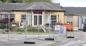 The Connemara Gateway Hotel, Oughterard: The  Department of Justice  cannot confirm or deny if any building is being considered for direct provision. Photograph: Joe O'Shaughnessy