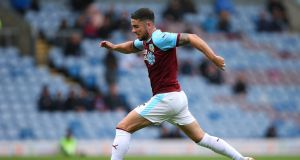 Robbie Brady is fully fit and in line to play for Burnley against Brighton on Saturday. Photograph:   Alex Livesey/Getty Images