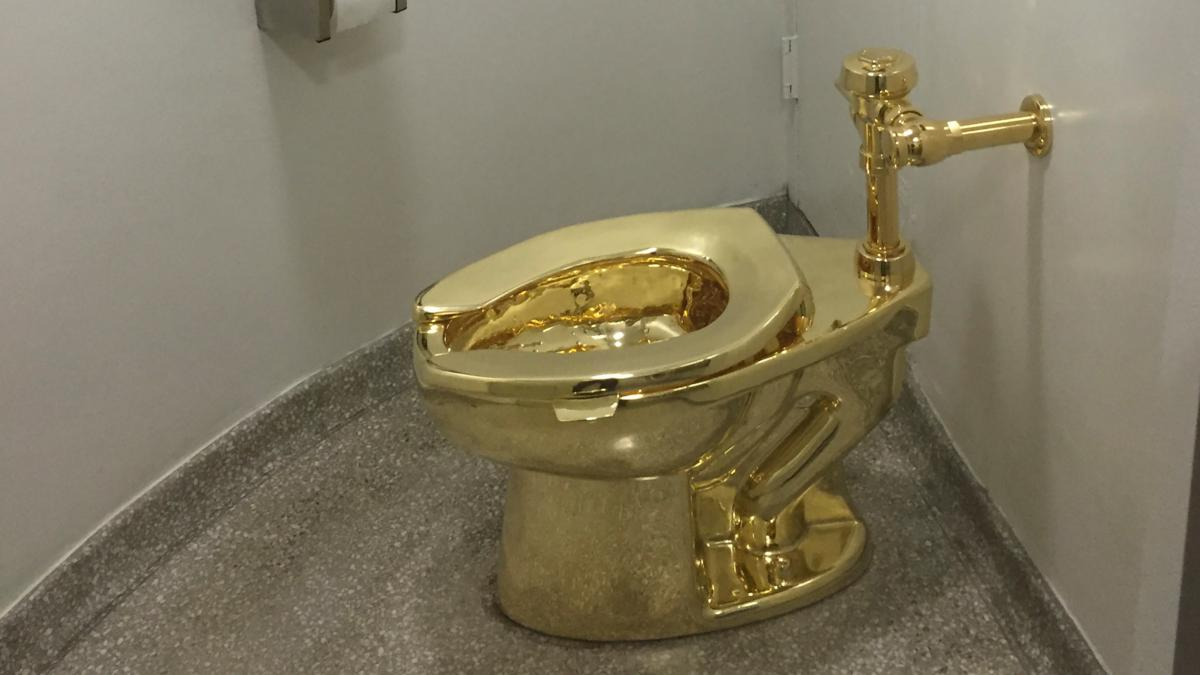 Busted flush: Man arrested over theft of solid gold toilet in England