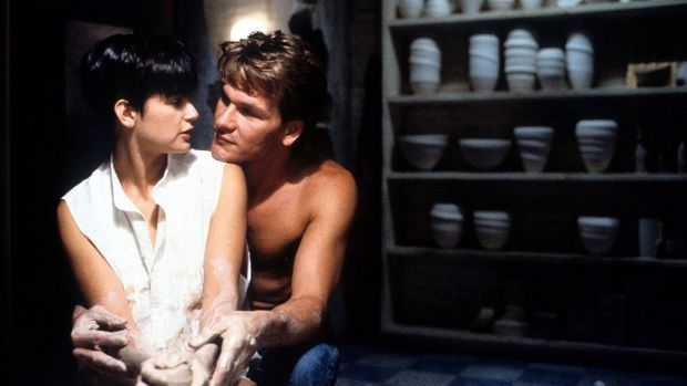 Demi Moore and Patrick Swayze in Ghost. Photograph: Getty Images