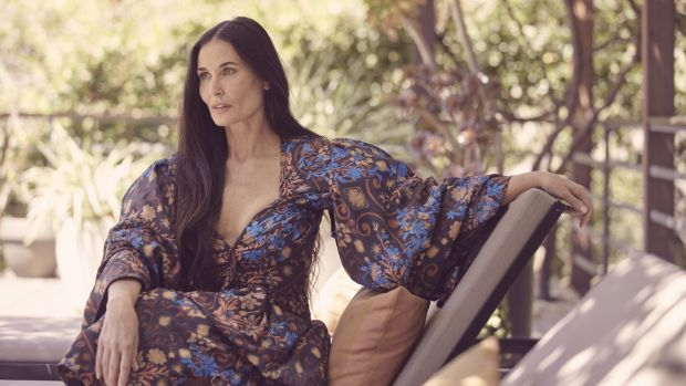 Actress Demi Moore, Photograph: Ramona Rosales/The New York Times