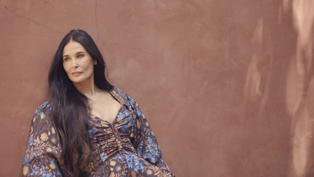 Demi Moore. Photograph: Ramona Rosales/The New York Times